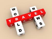Noticias del World Travel Imagenes de archivo