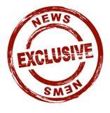 Noticias exclusivas Imagenes de archivo