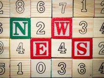 Noticias sobre cabritos Foto de archivo libre de regalías
