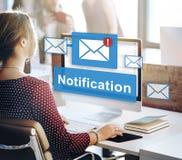 Notification Alert Digital Icon Internet Network Concept Royalty Free Stock Image
