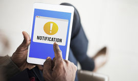 Notification Alert Exclamation Point Graphic Concept Stock Photography