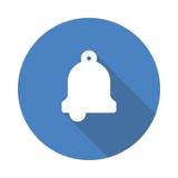 Notification icon. Vector Glyphs Shadow Icon Stock Photos
