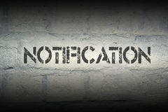 Notification Royalty Free Stock Photography