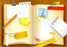 Notitieboekje vector illustratie