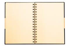 Notitieboekje Stock Afbeelding