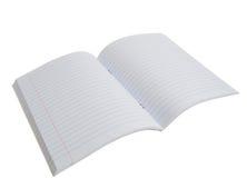 Notitieboekje in een lijn Stock Afbeelding