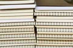 Notitieboekje en boek wallpeper royalty-vrije stock foto
