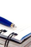 Notitieboekje en een pen Royalty-vrije Stock Fotografie