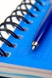 Notitieboekje en een pen Royalty-vrije Stock Afbeelding