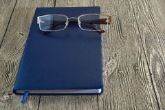 Notitieboekje en koffie Royalty-vrije Stock Fotografie