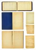 Notitieboekje en pagina's Royalty-vrije Stock Afbeeldingen