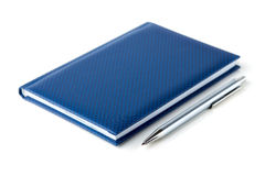 Notitieboekje en Pen Royalty-vrije Stock Afbeelding