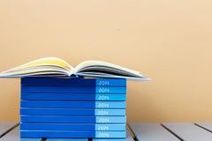 Notitieboekje van jaar 2014 Stock Fotografie