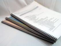 Notitieboekjes Stock Afbeeldingen
