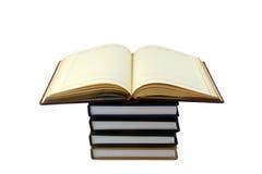 Notitieboekjes op een witte achtergrond stock afbeelding