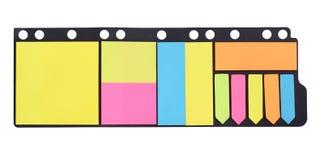 Notitzpapier Fotografía de archivo libre de regalías