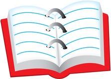 Notizbuch vektor abbildung