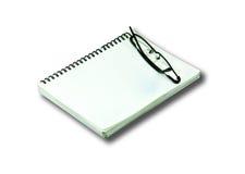Notizbuch. Lizenzfreie Stockfotografie