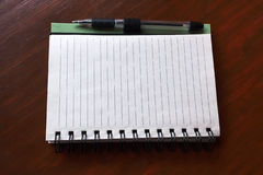 Notizbuch Lizenzfreies Stockbild