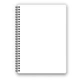 Notizbuch lizenzfreie abbildung