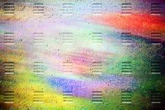 Notizbuch des metallischen Blattes Lizenzfreie Stockbilder