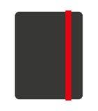 Notizbuch lokalisiertes Ikonendesign Lizenzfreies Stockbild