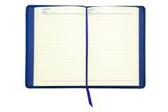Notizbuch mit Bookmark Stockbild