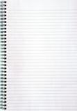 Notizbuch mit gezeichnetem Papier Lizenzfreies Stockfoto