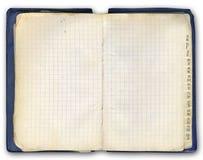 Notizbuch (mit kyrillischer Schrift) Stockbild