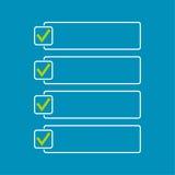 Notizbuch mit, zum der Liste zu tun Lizenzfreie Stockbilder