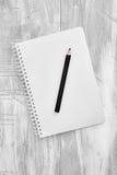Notizbuch-Schreibens-Auflage lizenzfreie stockbilder