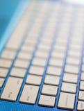 Notizbuch-Tastatur-Porträt Lizenzfreies Stockbild