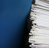Notizbuchstapel - Ausbildung und Schulekonzept Stockfoto