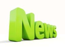 notizie 3D Fotografie Stock
