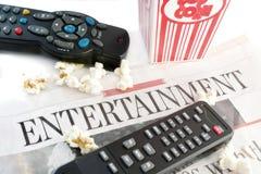 Notizie di intrattenimento fotografia stock libera da diritti