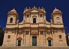 noto собора Стоковая Фотография