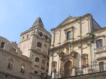 Noto. The beautiful baroque city of Noto ,Sicily royalty free stock photo