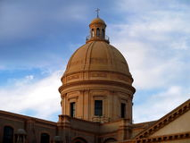 Noto Cathedral dome Royalty Free Stock Photos