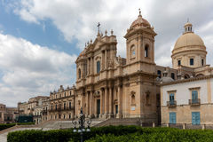 Noto Cathedral in Noto, Sicily, Italy Royalty Free Stock Images
