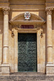 Noto Cathedral in Noto, Sicily, Italy Stock Photography