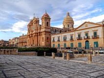 Noto Cathedral Royalty Free Stock Photo