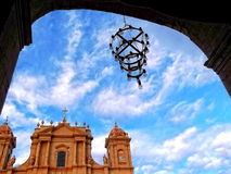 Noto Cathedral Royalty Free Stock Image