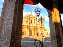 Noto Cathedral Stock Images