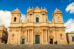 Noto Cathedral, Sicily Stock Images