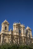 Noto cathedral at Sicily Stock Images