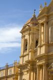 Noto cathedral at Sicily Royalty Free Stock Photo