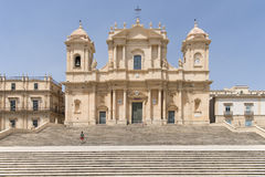 Noto Cathredral Royalty Free Stock Photography