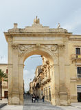 Noto City Gate Royalty Free Stock Photography