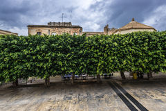 Noto en Italie Photos libres de droits