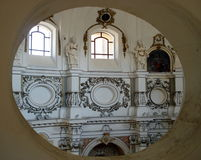 Noto huvudstaden av den barocka arkitekturen i Sicilien, Italien Royaltyfria Foton